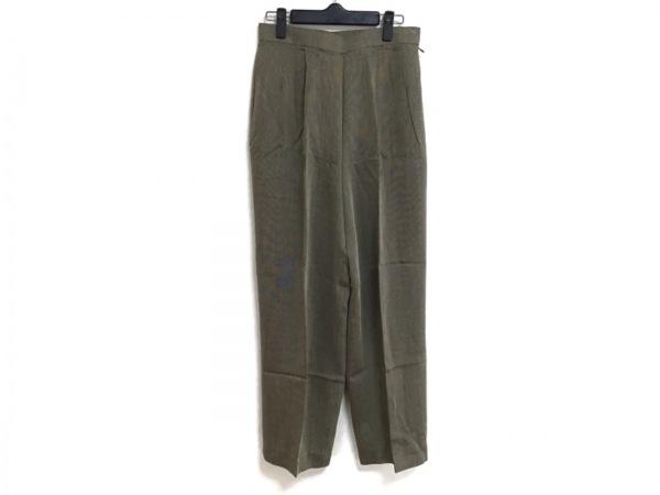 DAKS(ダックス) パンツ サイズ70〜95 レディース 黒×アイボリー
