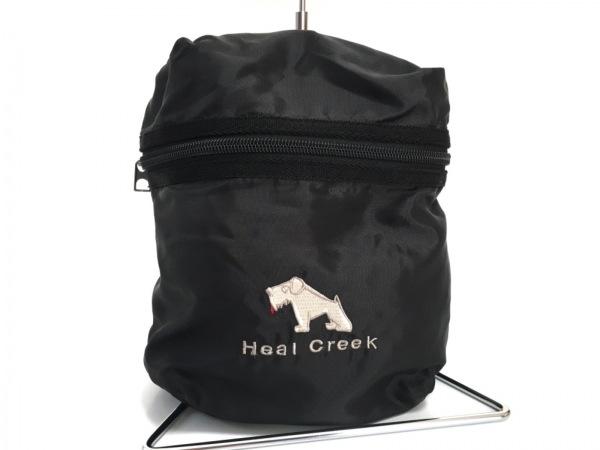 HealCreek(ヒールクリーク) バッグ美品  黒 ミニバッグ ナイロン