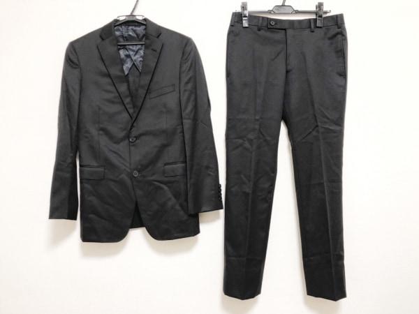 ABAHOUSE(アバハウス) シングルスーツ サイズ2 M メンズ美品  黒 肩パッド