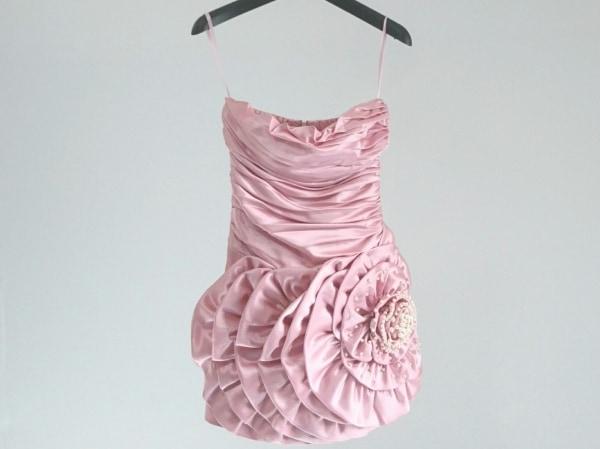 an(アン) ドレス レディース美品  ピンク フェイクパール
