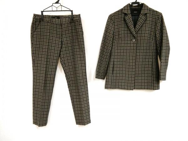 ARAMIS(アラミス) レディースパンツスーツ サイズ40 M レディース美品  黒×ベージュ