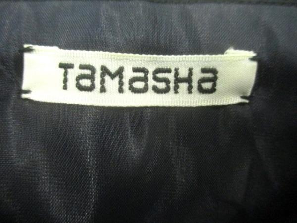TAMASHA(タマシャ) ショルダーバッグ ネイビー コットン