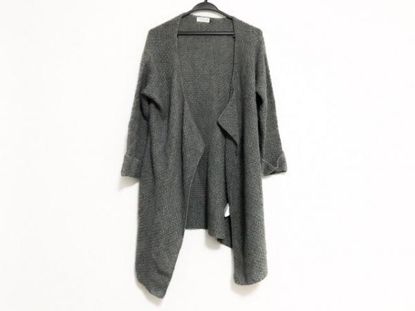LEPSIM(レプシィム) コート サイズF レディース グレー 春・秋物/ニット