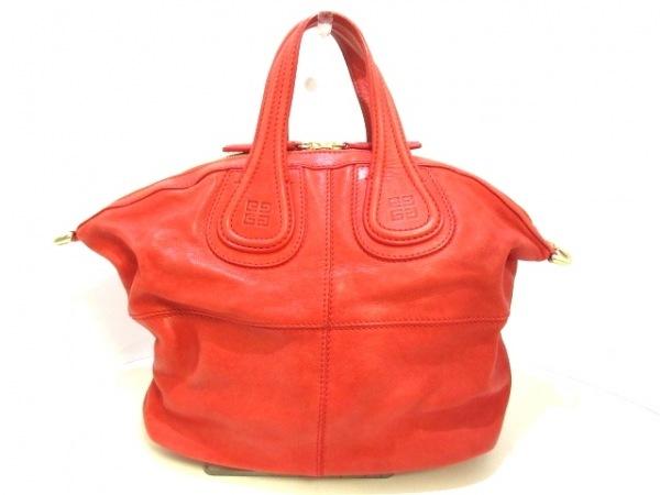GIVENCHY(ジバンシー) ハンドバッグ ナイチンゲールスモール レッド レザー