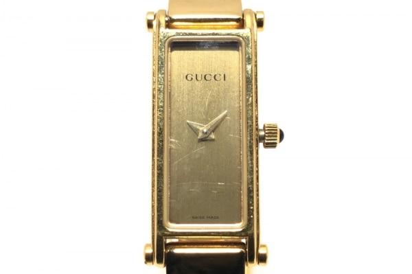 GUCCI(グッチ) 腕時計 1500L レディース ゴールド