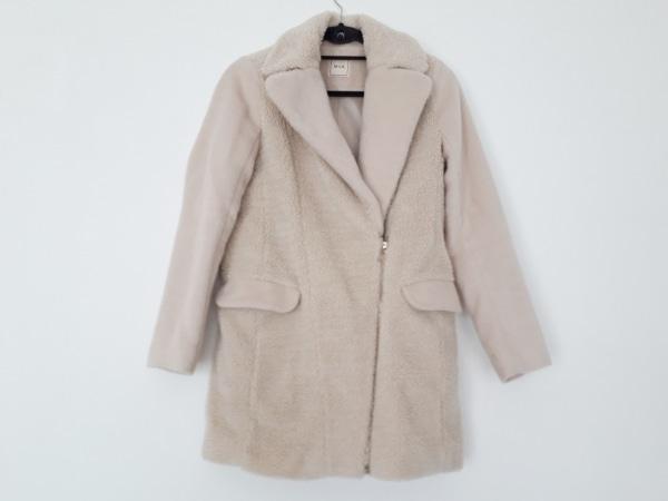 Miia(ミーア) コート サイズ1 S レディース美品  アイボリー 冬物