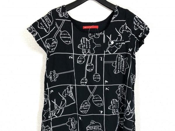 mint designs(ミントデザインズ) ワンピース レディース 黒×アイボリー