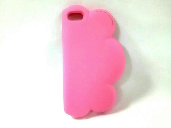 stellamccartney(ステラマッカートニー) 携帯電話ケース ピンク ラバー