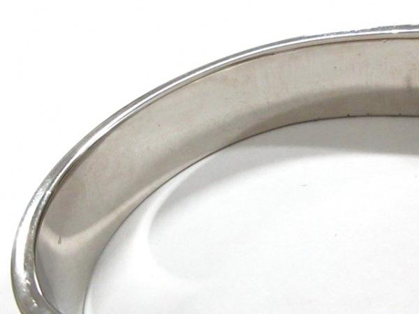 エルメス バングル クリッククラック 金属素材 シルバー×ピンク 7
