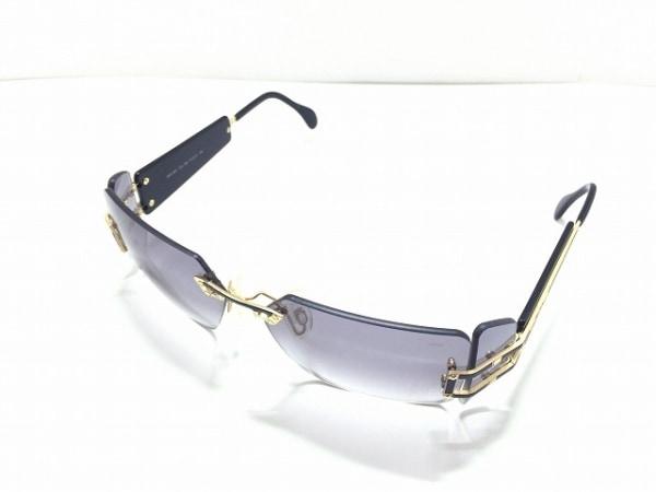 CAZAL(カザール) サングラス MOD.923 黒×ゴールド プラスチック×金属素材