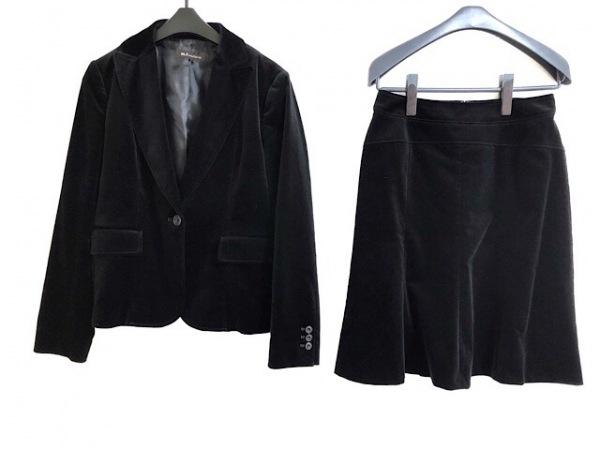 m.f.editorial(エムエフエディトリアル) スカートスーツ サイズL レディース 黒