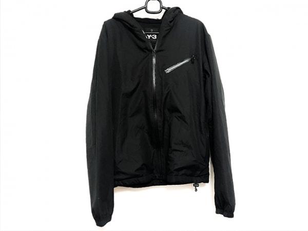 Y-3(ワイスリー) ブルゾン サイズS メンズ美品  黒 adidas/ジップアップ/春・秋物