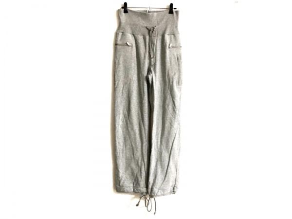 ワイスリー パンツ サイズXS メンズ ライトグレー×ブルー adidas/ウエスト・裾ゴム