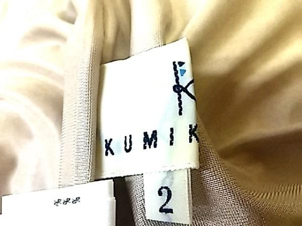組曲 KUMIKYOKU(クミキョク) コート サイズ2 M レディース ベージュ 冬物