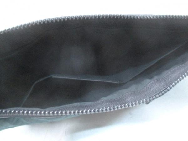 バレンシアガ クラッチバッグ クリップL 273023 ダークグリーン×黒 5