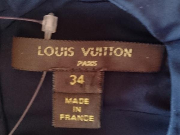 LOUIS VUITTON(ルイヴィトン) ワンピース サイズ34 S レディース ネイビー