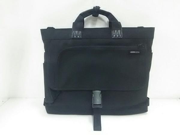 LAGASHA(ラガシャ) ビジネスバッグ 黒 2Way ナイロン