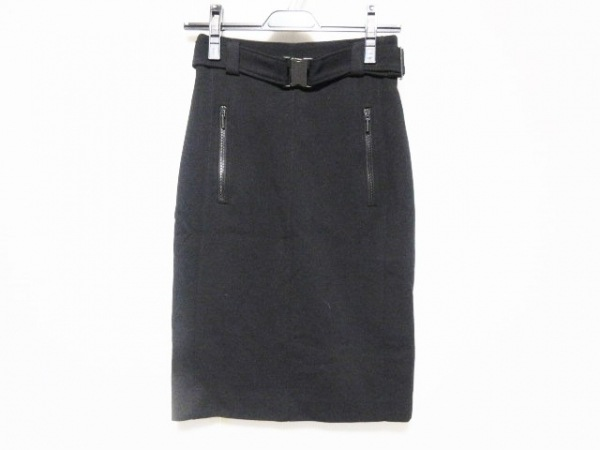 AKRIS(アクリス) スカート サイズUA 4 レディース 黒