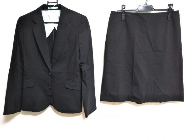 LES MUES(レミュー) スカートスーツ レディース 黒 ストライプ