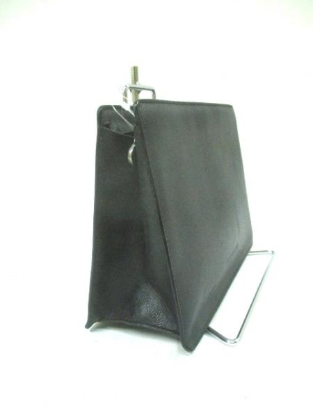 BVLGARI(ブルガリ) セカンドバッグ - 黒 レザー