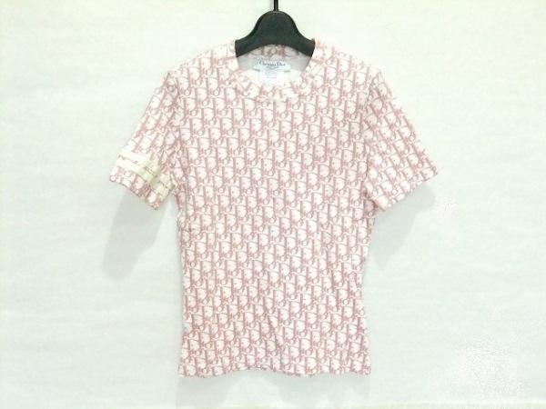 クリスチャンディオール 半袖Tシャツ サイズ38(F) レディース美品  ロゴグラム