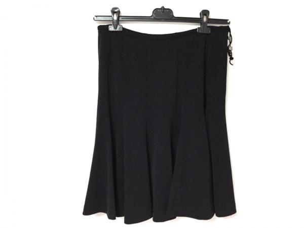 MIEKO UESAKO(ミエコウエサコ) スカート サイズ44 L レディース美品  黒
