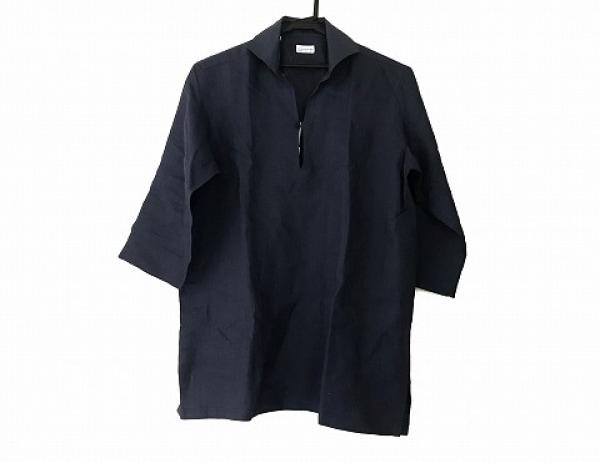 Guy Rover(ギローバー) 七分袖シャツ サイズL メンズ美品  ネイビー