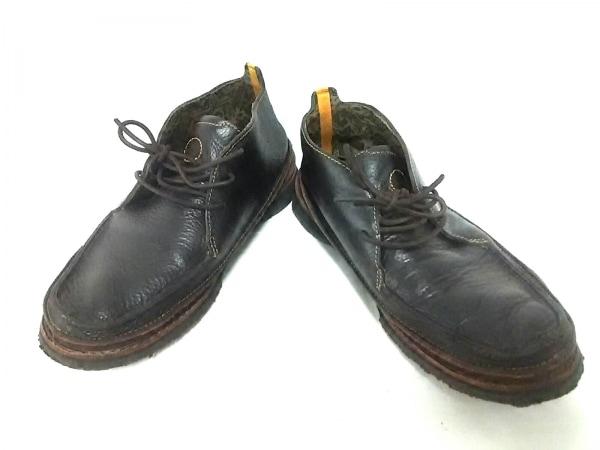 Timberland(ティンバーランド) シューズ 7.5 メンズ美品  黒×ダークブラウン SMART