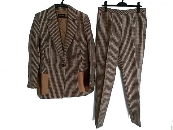 ESCADA(エスカーダ) レディースパンツスーツ サイズ40 XL レディース美品  千鳥格子