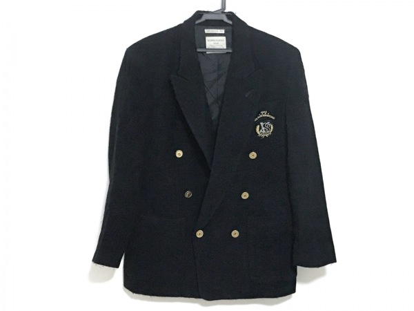VALENZA PO(バレンザポー) ジャケット サイズM レディース 黒 ニット