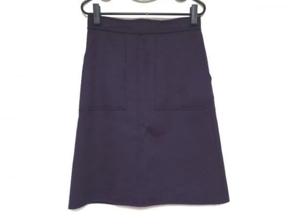 Drawer(ドゥロワー) スカート サイズ38 M レディース美品  パープル