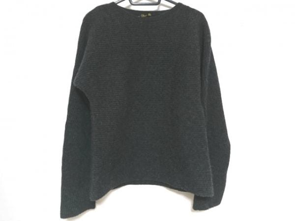 Drawer(ドゥロワー) 長袖セーター サイズ0 XS レディース美品  ダークグレー