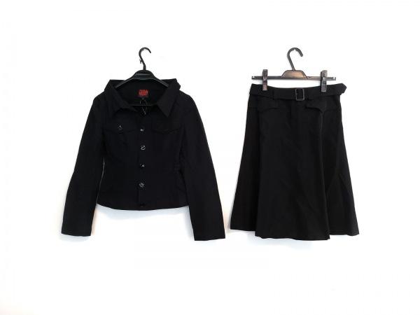 JeanPaulGAULTIER(ゴルチエ) スカートセットアップ サイズ42 L レディース美品  黒