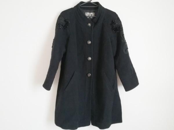 ROSSA(ロッサ) コート サイズ42 L レディース美品  黒