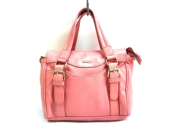 FREE'S SHOP(フリーズショップ) ハンドバッグ ピンク Plush&Lush 合皮