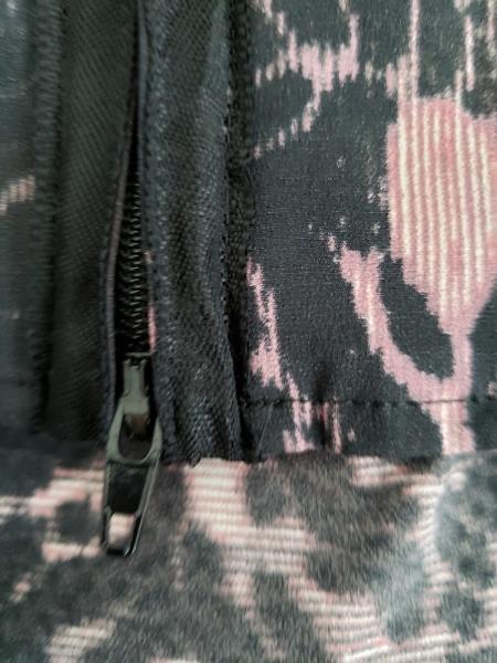 ゴルチエ スカートセットアップ サイズ40 M レディース美品  黒×ピンク×グレー