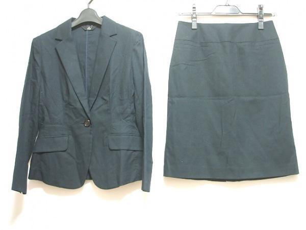 INED(イネド) スカートスーツ サイズ9 M レディース ダークネイビー