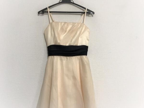 La Defence(ラデファンス) ドレス サイズ9 M レディース美品  アイボリー×黒