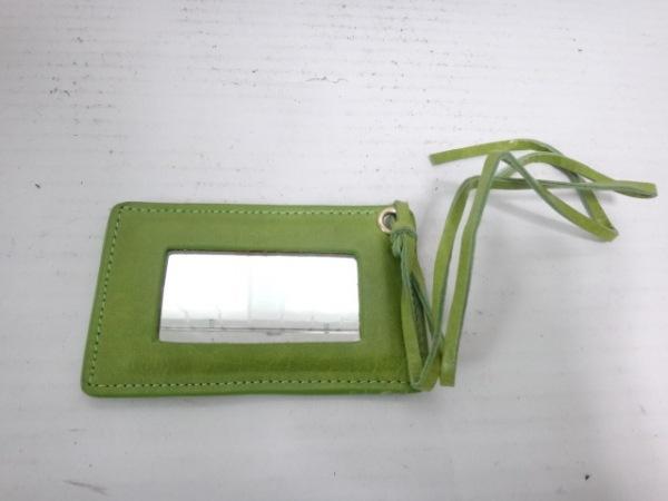 LUSH(ラッシュ) ハンドバッグ ライトグリーン レザー