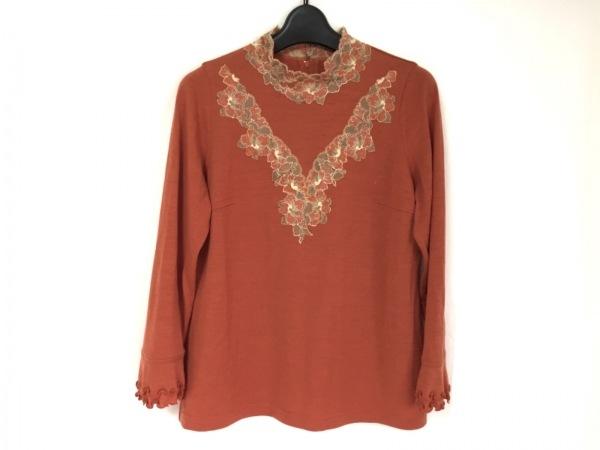 ROSSA(ロッサ) 長袖セーター サイズ44 L レディース美品  ブラウン