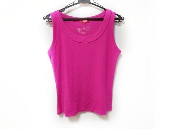 CHACOK(シャコック) ノースリーブTシャツ サイズM レディース新品同様  ピンク