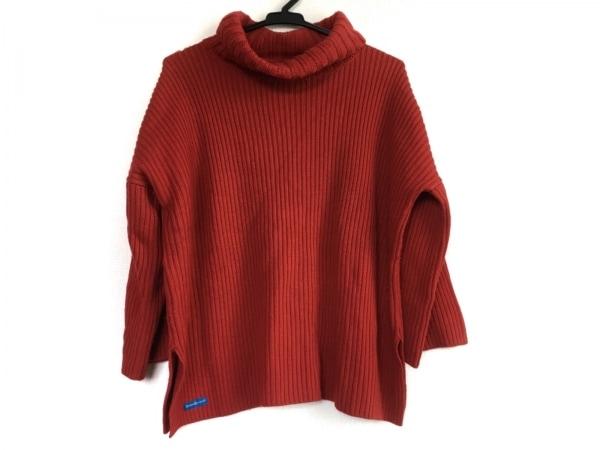 ロンハーマン 七分袖セーター サイズXS レディース レッド タートルネック