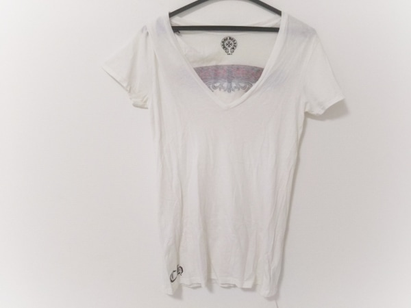 Chrome hearts(クロムハーツ) 半袖Tシャツ レディース アイボリー