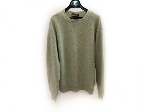 MIEKO UESAKO(ミエコウエサコ) 長袖セーター サイズ52 メンズ美品  JUMBO OZAKI