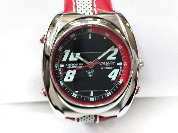 VAGARY(ヴァガリー) 腕時計美品  CC41-S025338 HSB レディース 黒