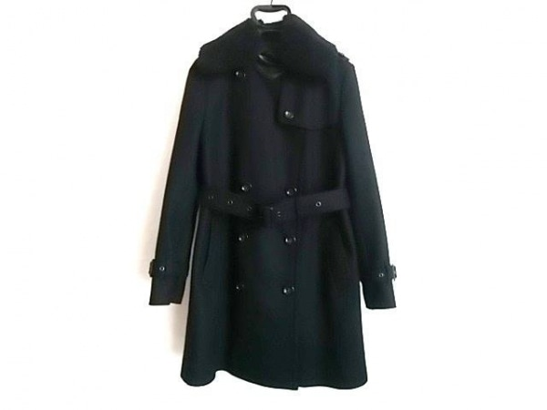 COACH(コーチ) コート サイズ8 M レディース美品  黒 冬物