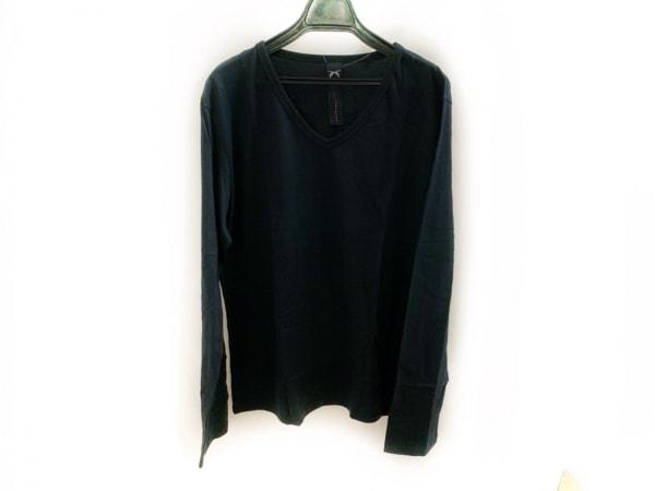 ロアーガンズ 長袖Tシャツ サイズ4 XL メンズ美品  黒 スタッズ/ラインストーン