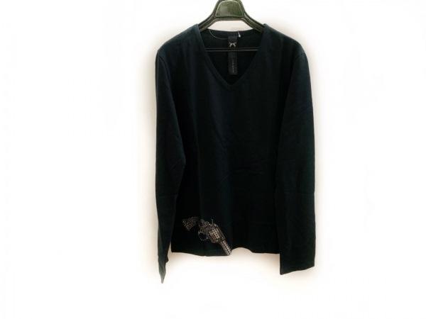 roarguns(ロアーガンズ) 長袖Tシャツ サイズ3 L メンズ美品  黒 スタッズ