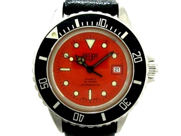HEUER(ホイヤー) 腕時計 プロッフェショナル 980.016 レディース オレンジ