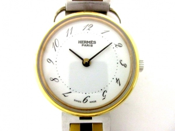 HERMES(エルメス) 腕時計 アルソー - レディース 白